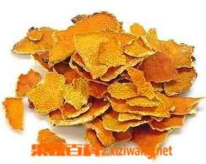橘子皮煮水的功效