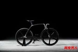 资讯生活品牌velonia碳纤维单车全新设计Viks